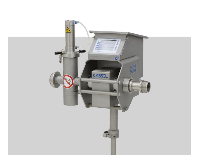Detector metales para productos pastosos
