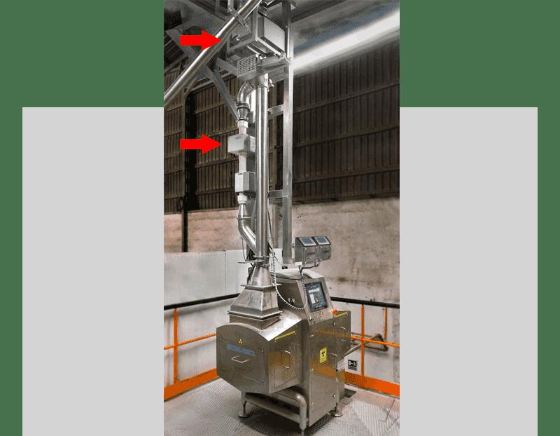 Equipos de Rayos X con detector de metales