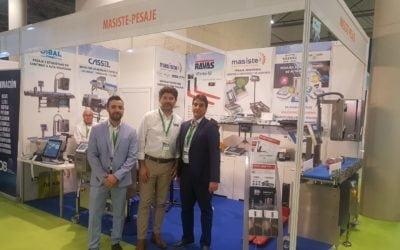 Exposición de los detectores de metales de Ibercassel en Info Agro Exhibition