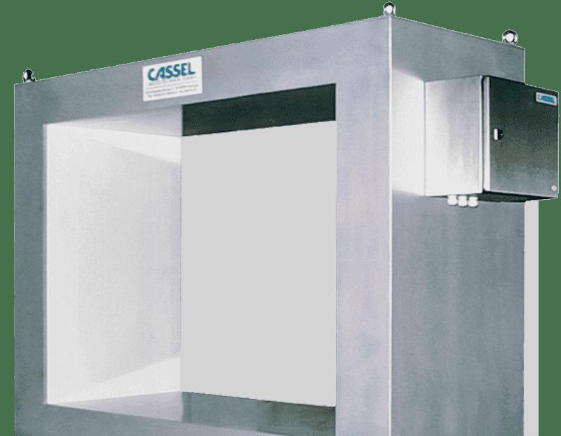Detector metal industrial para productos de gran tamaño
