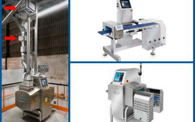 ¿Cómo funciona un equipo combinado de rayos X con control de peso?