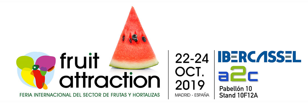 Ibercassel estará presente en la feria Fruit Attraction