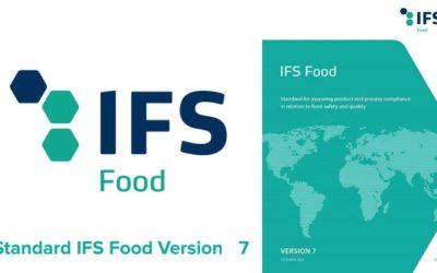 Publicada la nueva versión 7 de la norma IFS Food