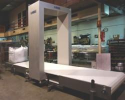 Detector de metales Big para palets y big bag